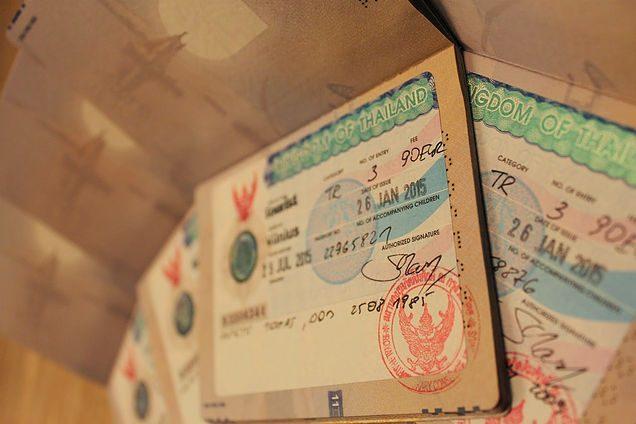 Tailando viza - tvarka, dokuementai, svarbi informacija