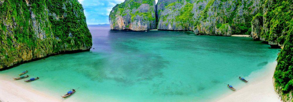 Maya Bay paplūdimys