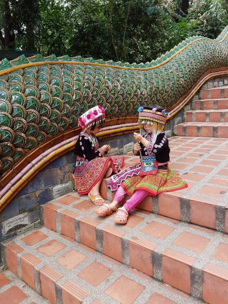 Doi Suthep šventykla Chiang Majuje.