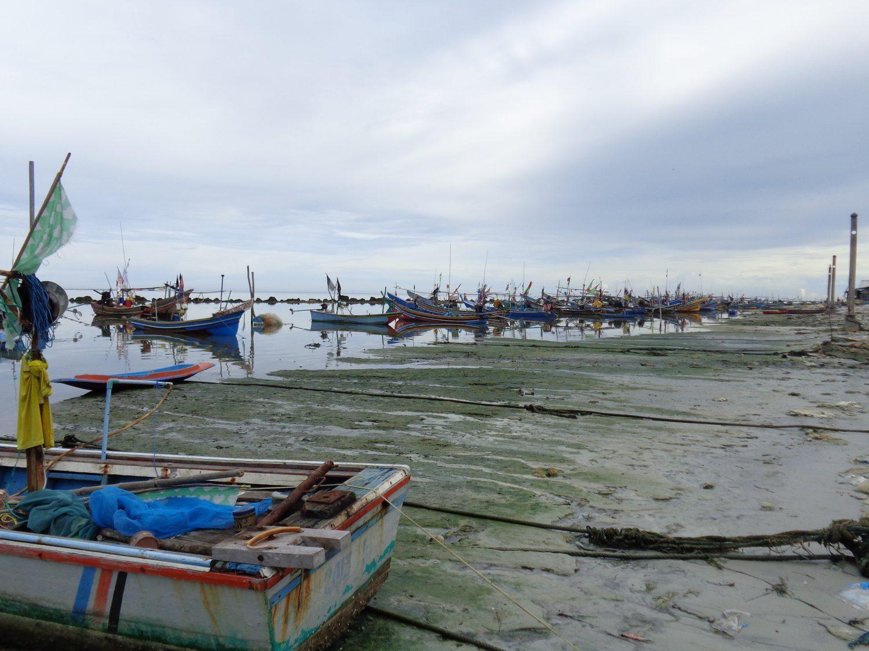 Hua Thanon žvejų kaimelis Koh Samui saloj
