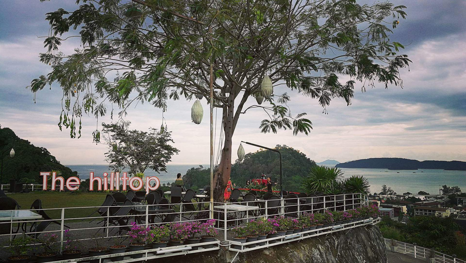 Ao Nang Hill top restoranas