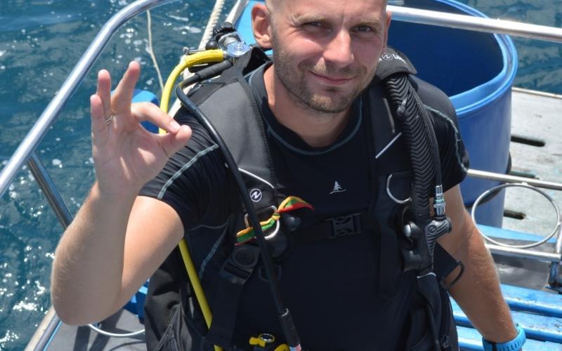 Tomas Kupetis nardymo instruktorius