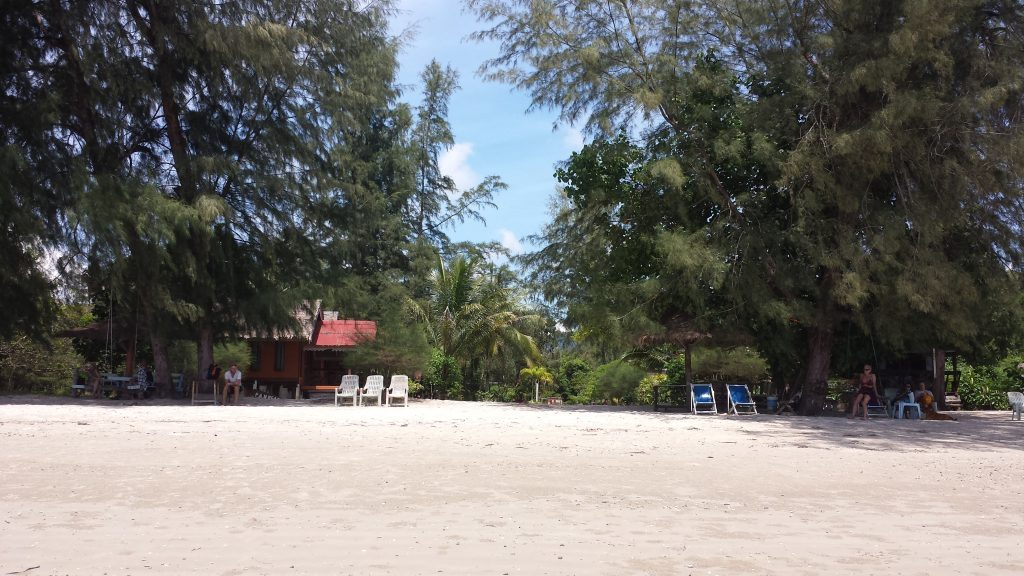 Pan beach bungaliukai Ao Nange