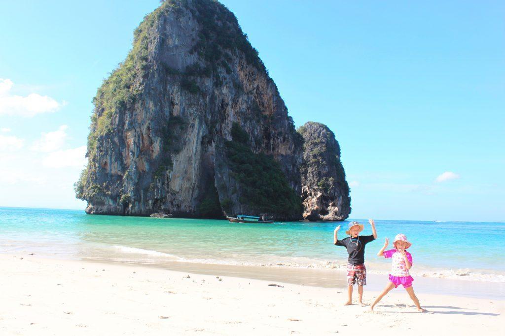 Phra Nang paplūdimys prie Railay