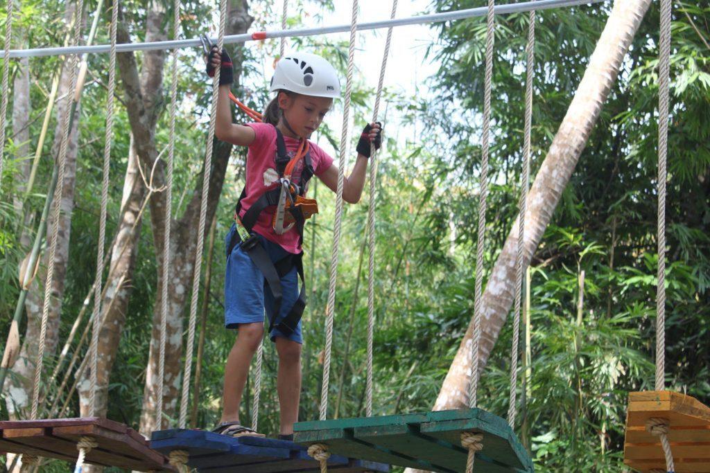 Nuotykių parkas Krabi