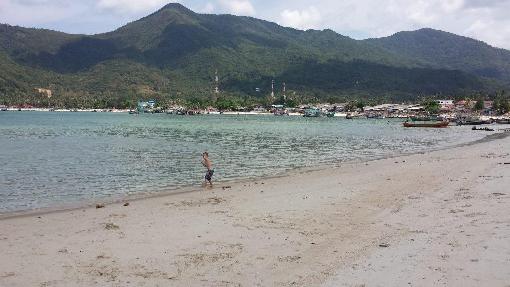 Koh Phangan Chaloklum paplūdimys
