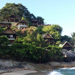 Koh Phangan paplūdimys