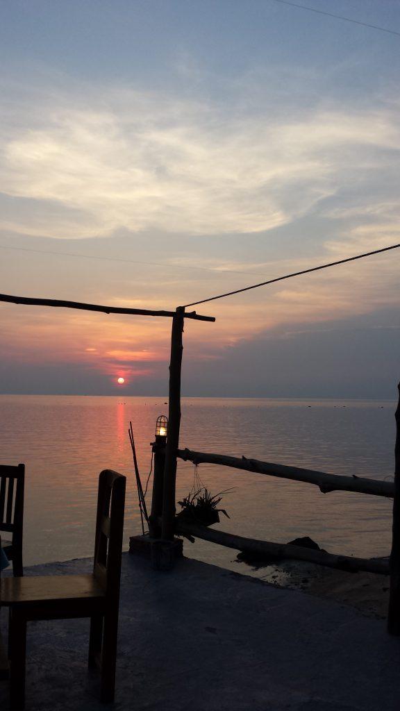 Vakarinė Koh Phangan salos pusė