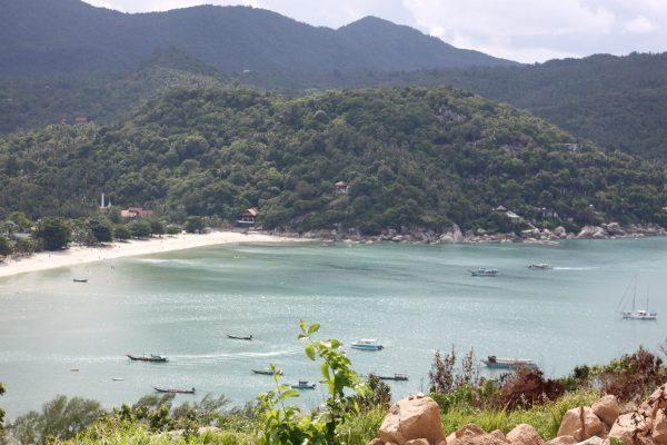Koh Phangan Thong Nai Pan Noi paplūdimys