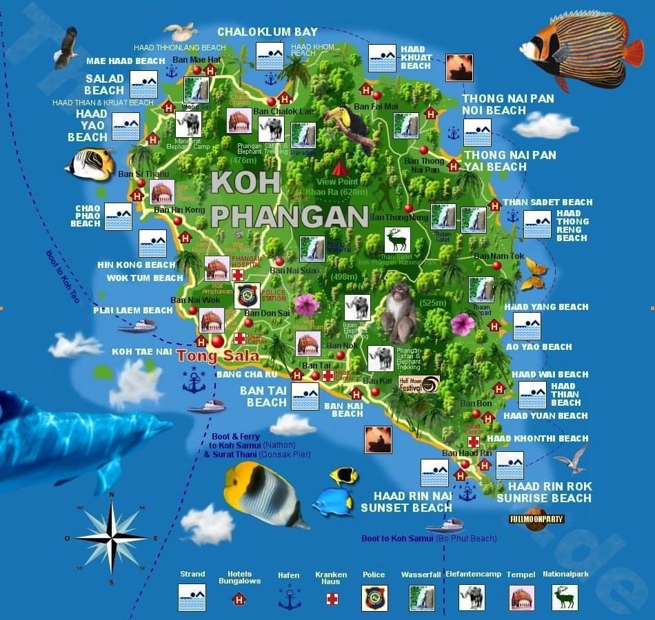 Koh Phangan sala
