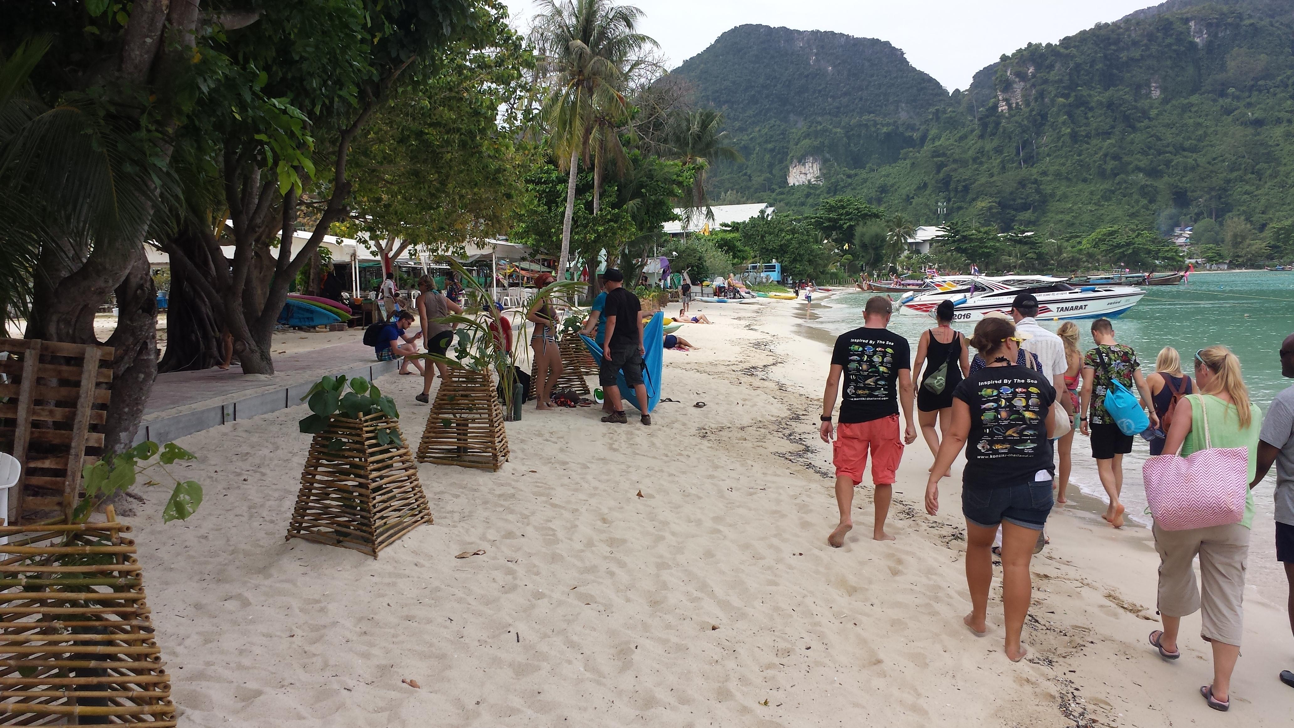 Ekskursija po Phi Phi salas