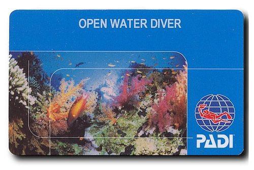 Open water diver arba atvirųjų vandenų nardymo kursas Tailande