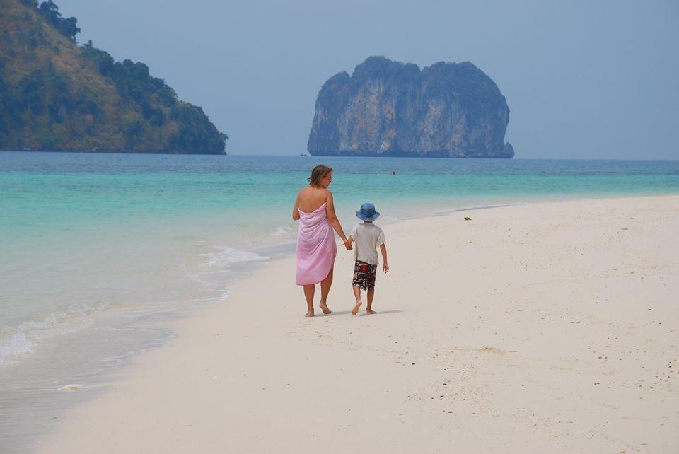 Tailando salos Krabi regione