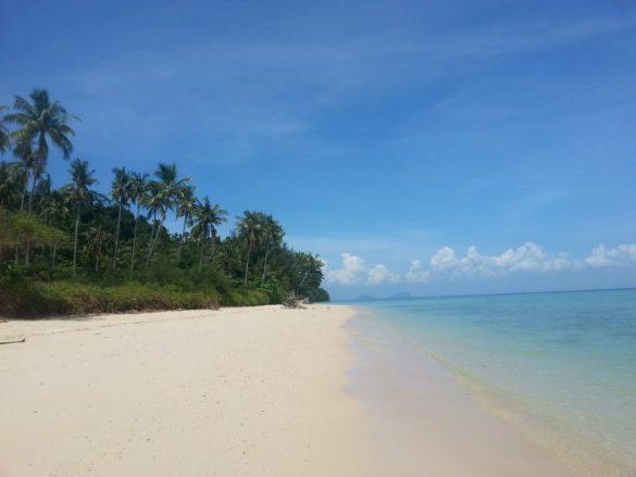 Koh Ngai - pietinė Krabi sala