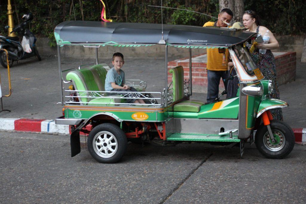Tuktukai Tailande - didžiausia tikimybė būti apgautam