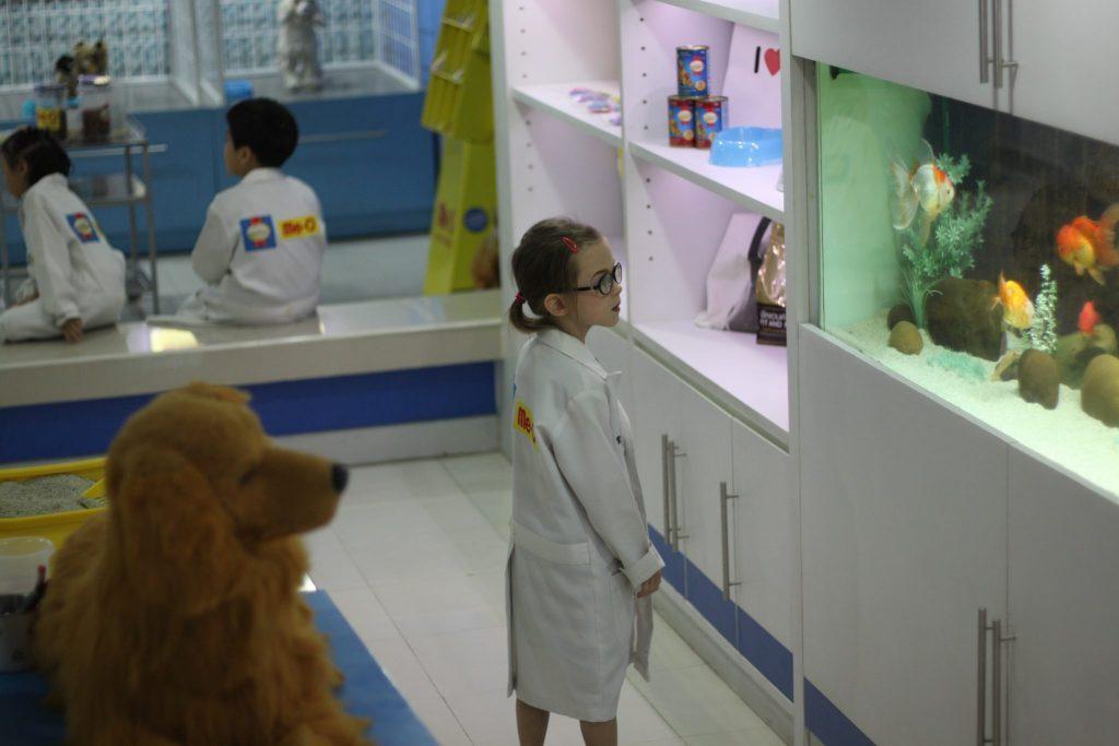 Vasarė - veterinarė Kidzanijoje