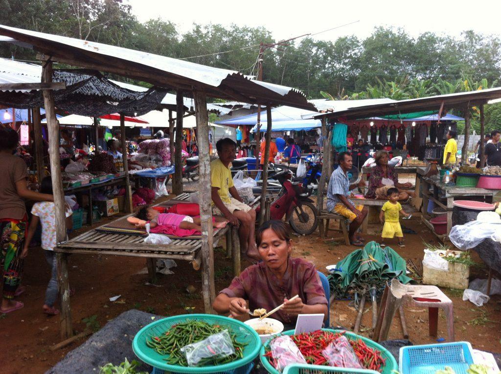 Vietinių tajų gyvenimas