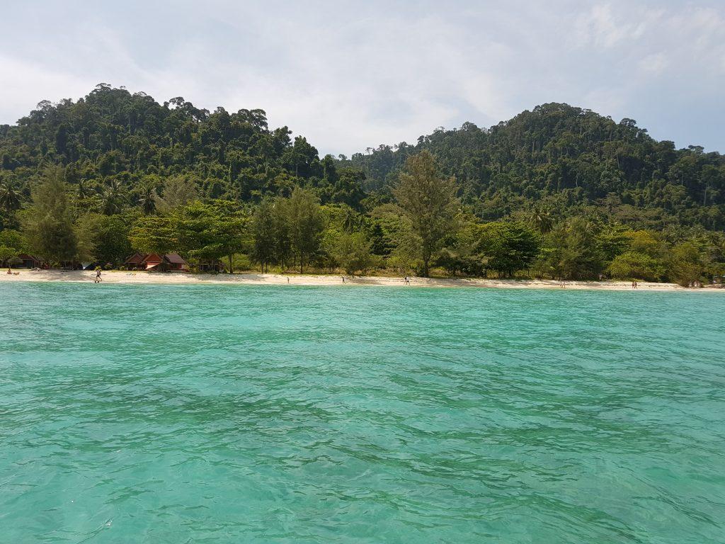 Koh Ngai sala Tailande