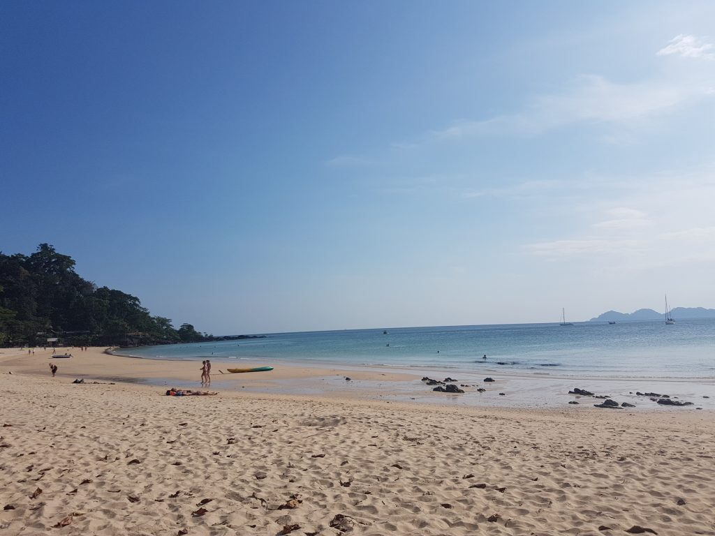 Koh Mook sala Pietų Tailande
