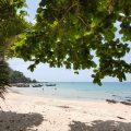 Farang paplūdimys Mook saloje Tailande