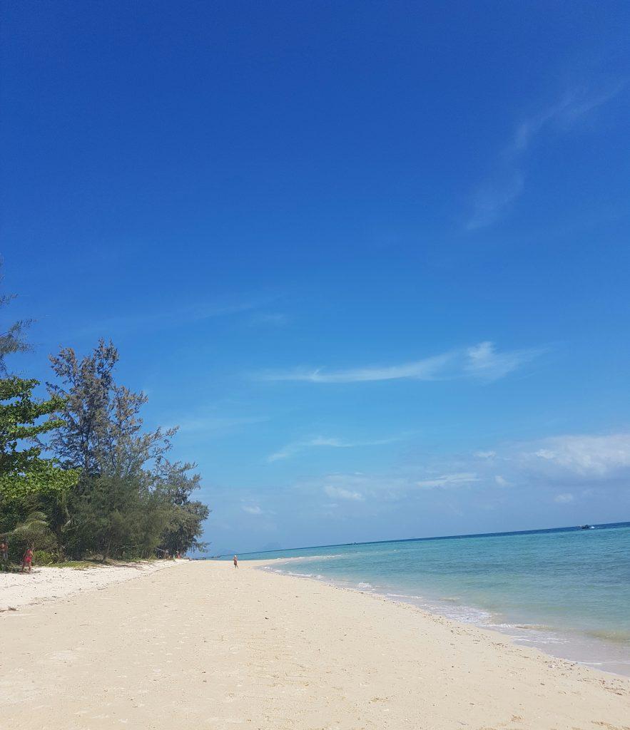 Nuostabios pietų Tailando salos