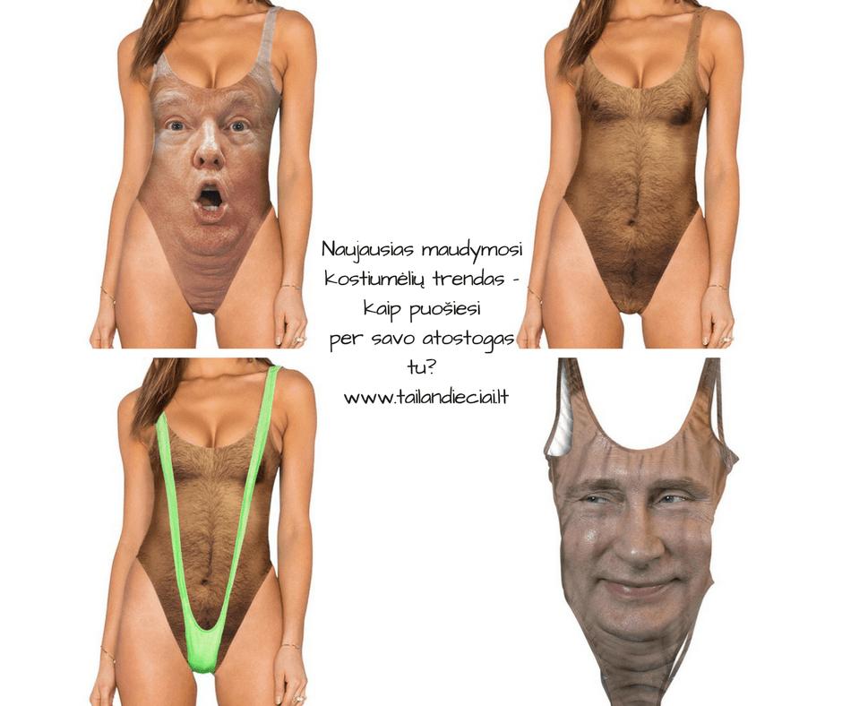 maudomosi kostiumeliai su veidais