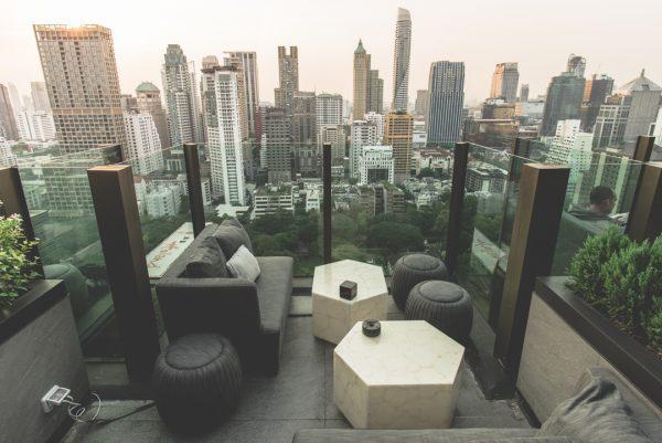 Bankoko baras ant stogo