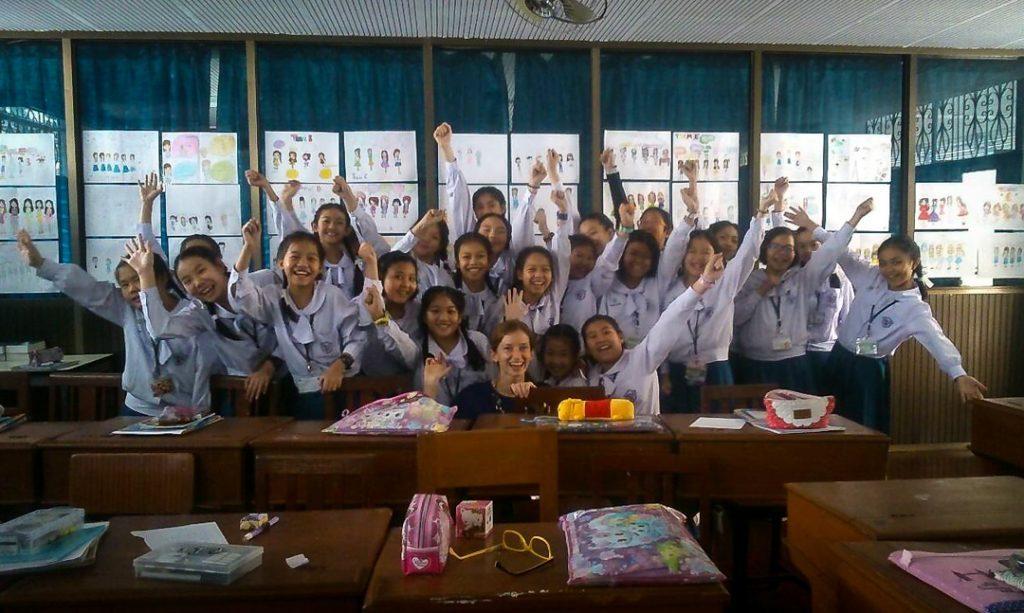 Darbas Tailande - lengviausia įsidarbinti mokytoju