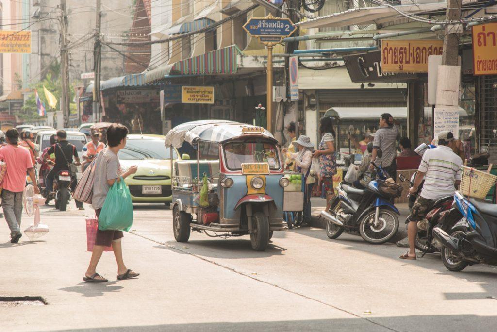 Vietinių turgūs Bankoke