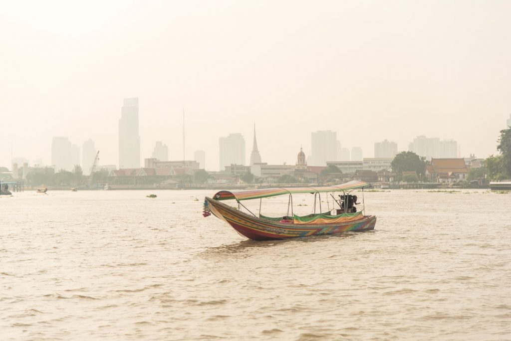 Paplaukiojimas Bankoke upe