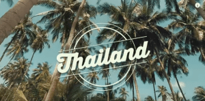 Regimanto Urbano kelione i Tailanda