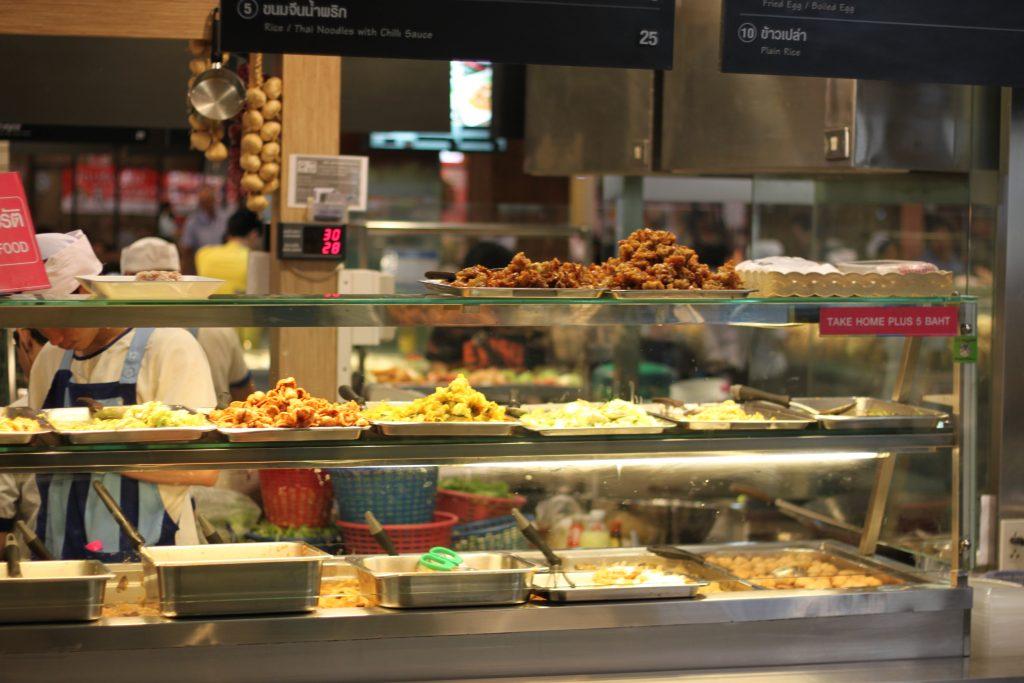 Tajiško maisto karalystė Bankoke - Terminal21 valgykla