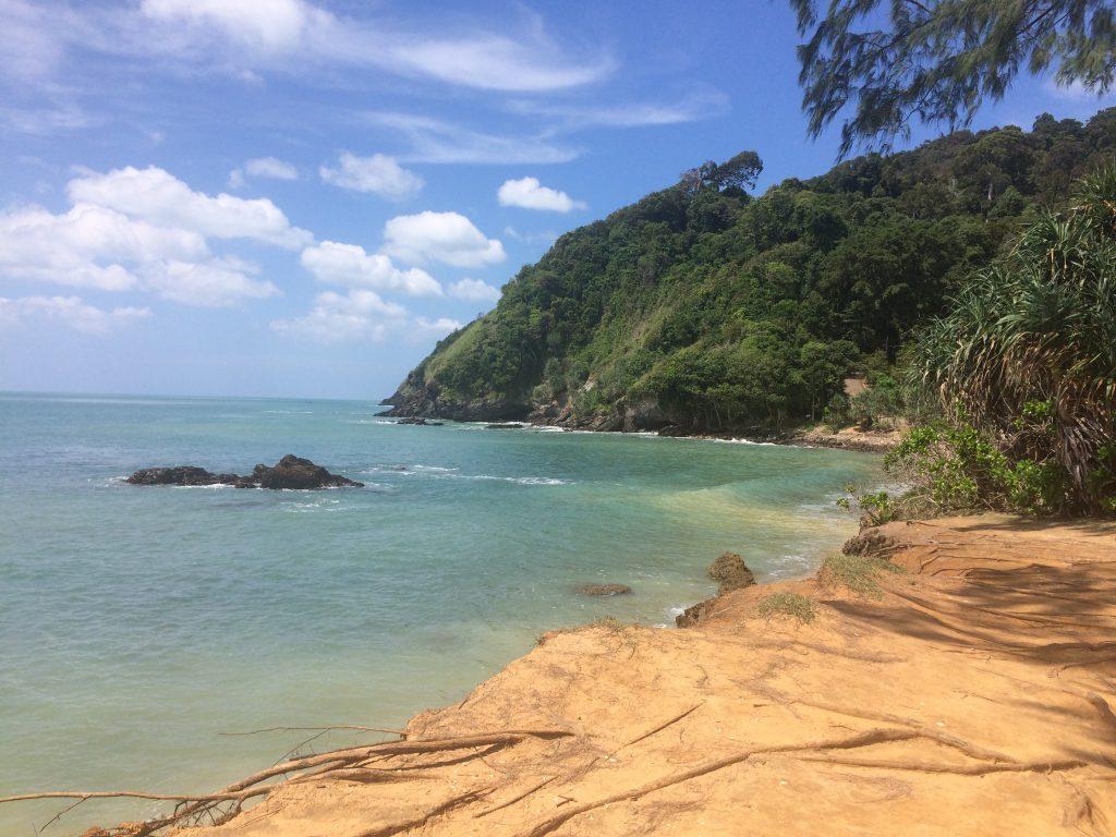 Paplūdimys Koh Lanta saloje