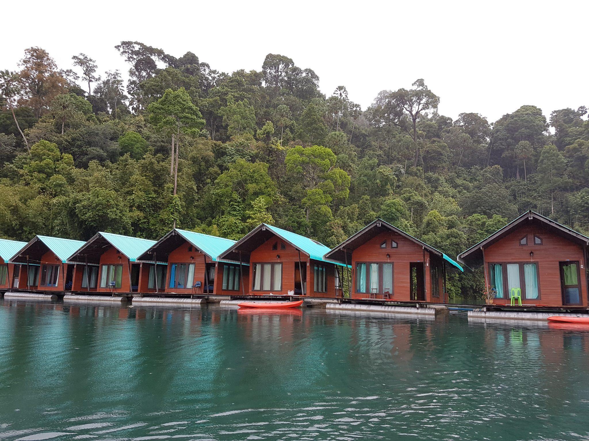 Khao sok parko ežeras