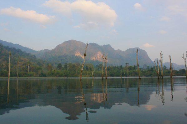 Khao Sok nacionalinis parkas - turas ant ežero