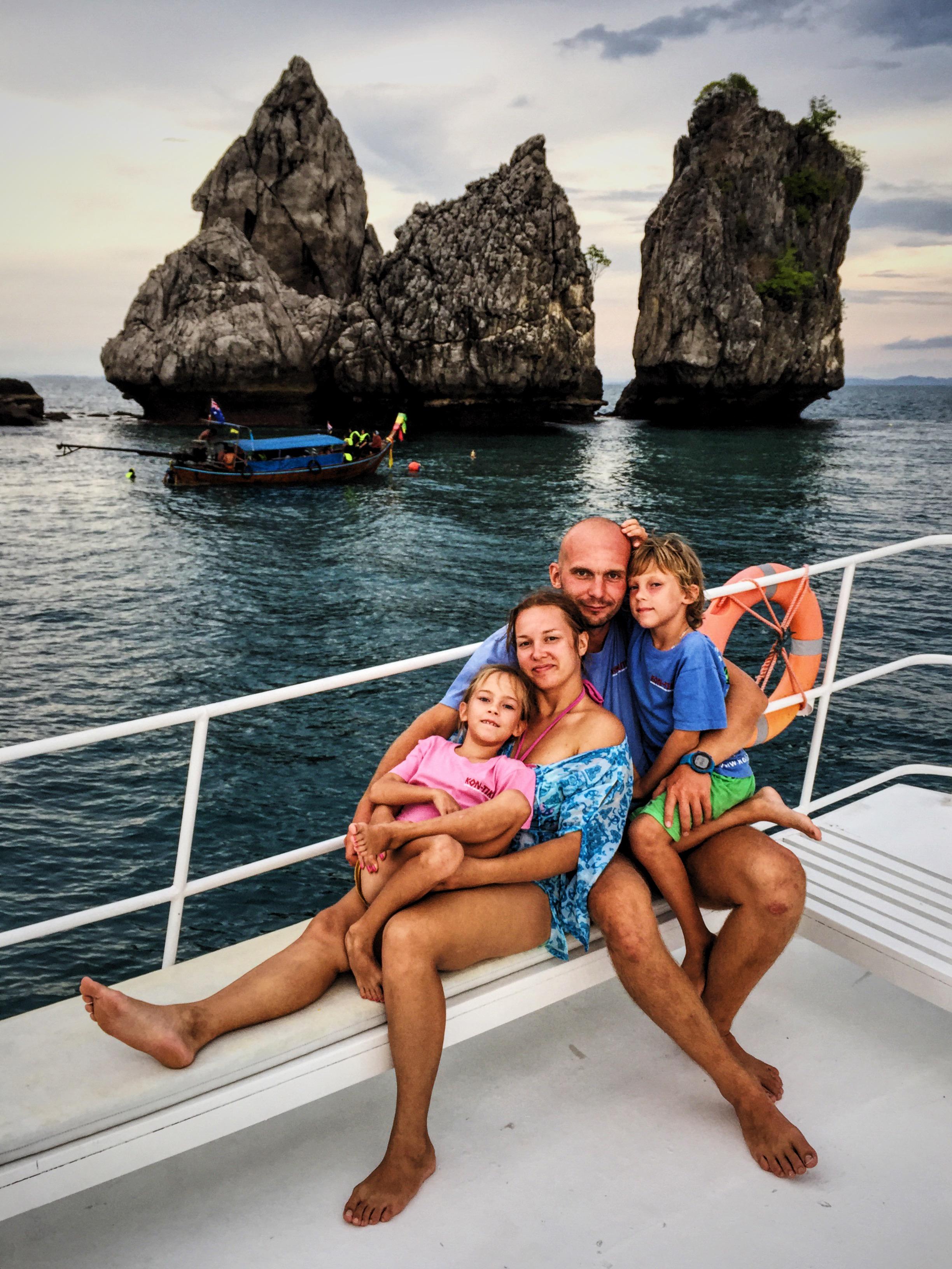 Krabi salų saulėlydžio turas