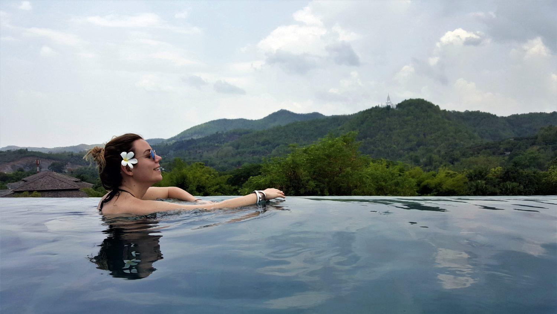 veranda hotel su panorama Chiang mai i kalnus