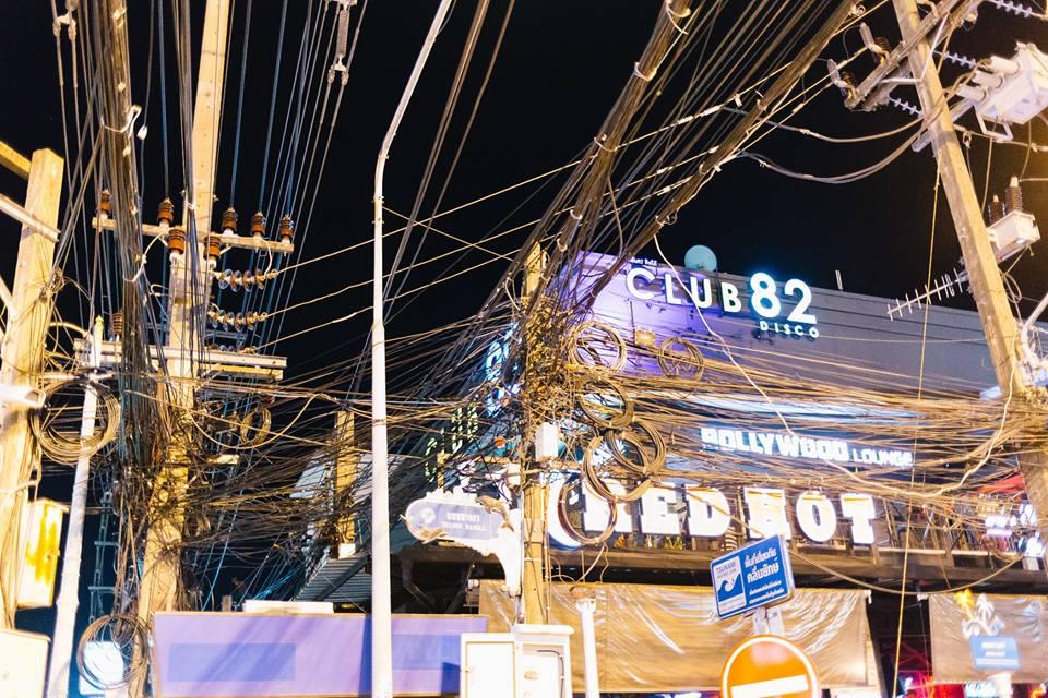 elektros laidai - Tailando vizitinė kortelė