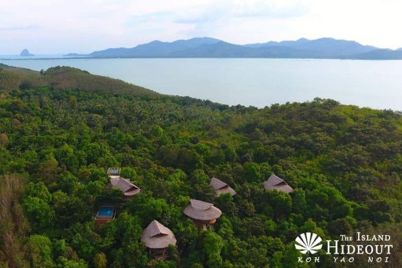 the island hideout hotel Koh yao Noi sala