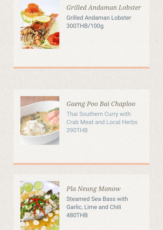 Kainos Ao Nang Hill Top restorane