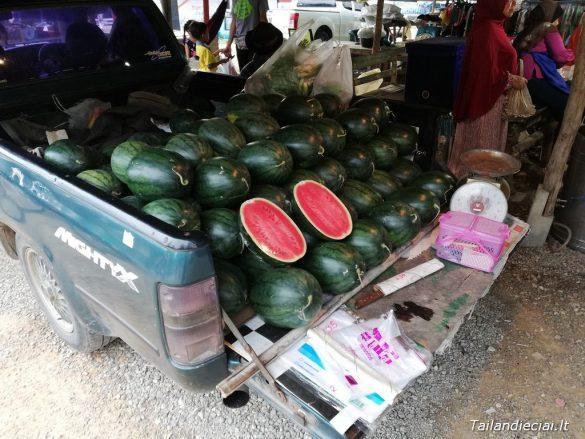 Arbūzai Tailande yra ištisus metus