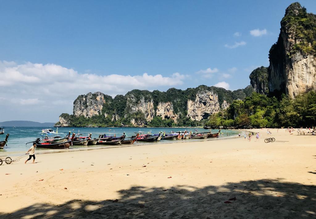 Railay paplūdimys vos 15 minučių nuo Ao Nang