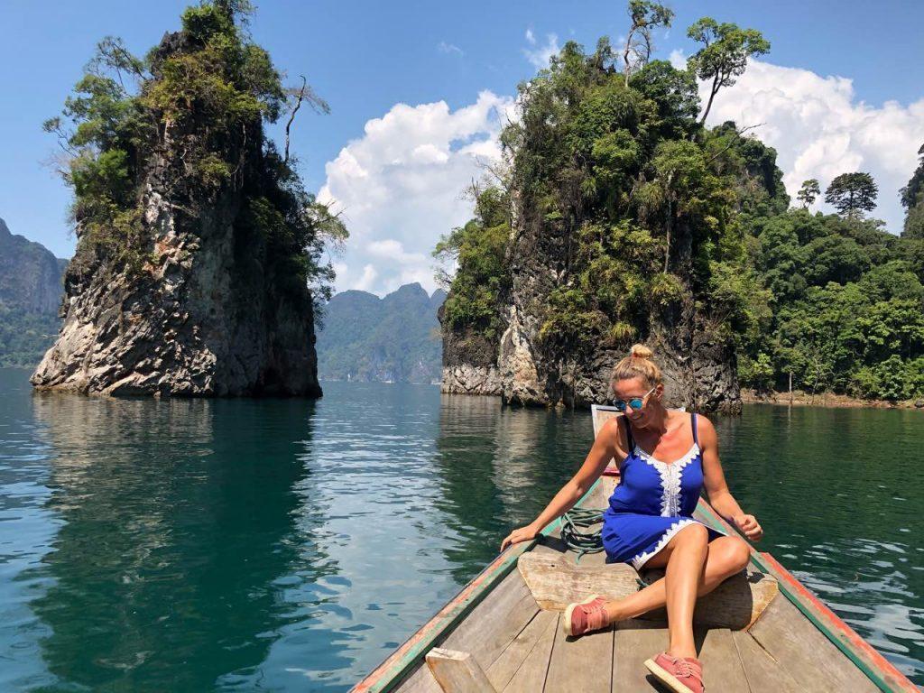 Cheow Lan ežeras Khao Sok nacionaliniame parke