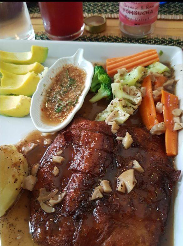 veganiškas steikas