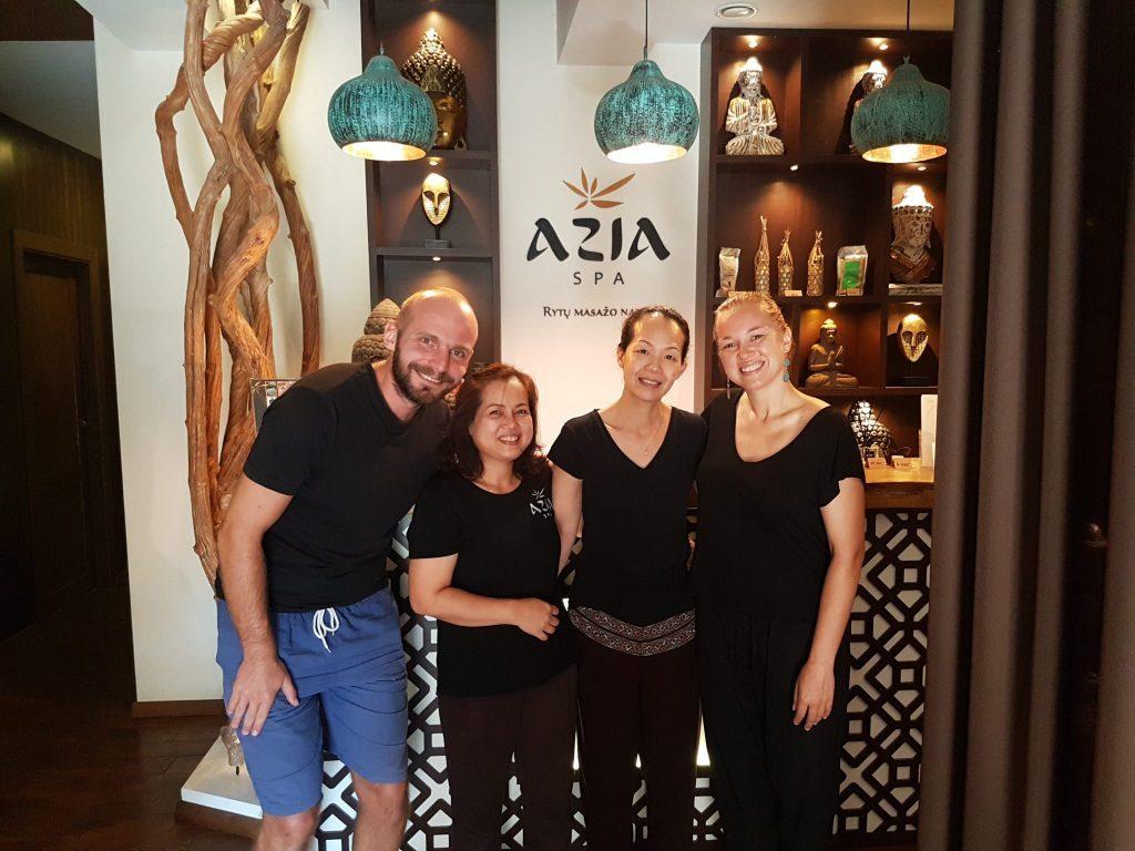 Azia Spa masažo namai Vilniaus senamiestyje