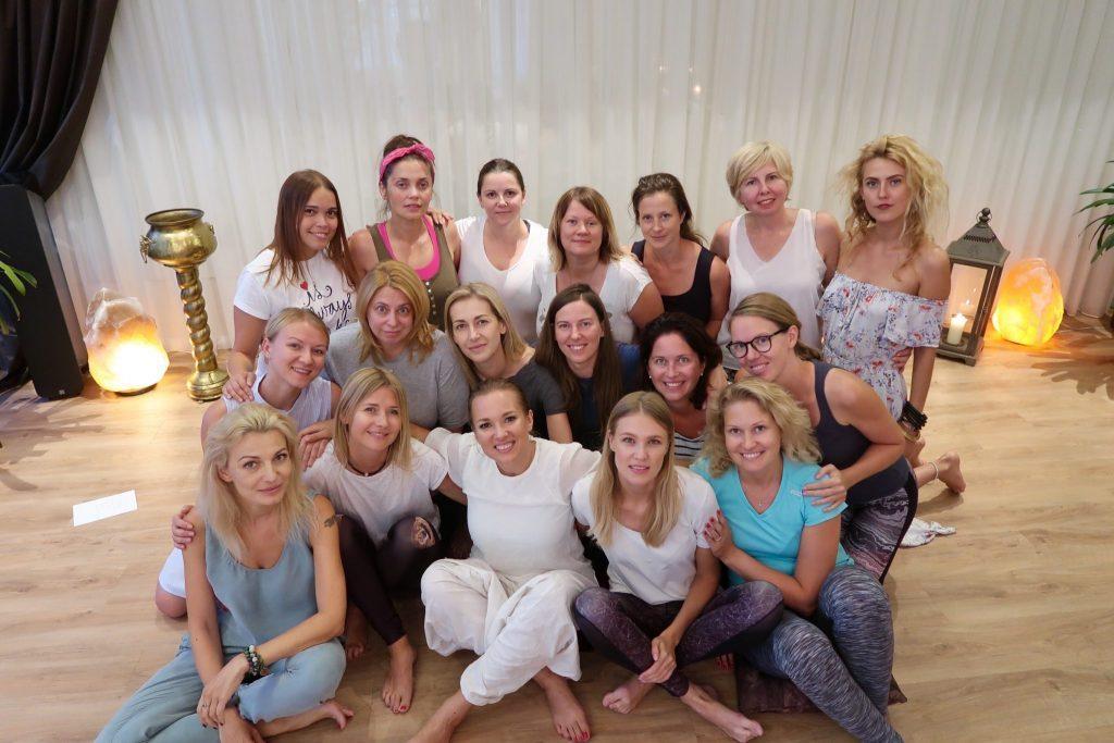 meditacijų kelionė moterims