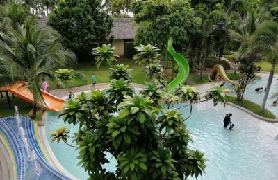 Holiday inn Krabi viešbutis su vaikais, tailandas