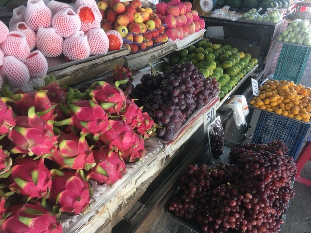 tailandietiški vaisiai