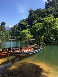 Cheow lan ežeras - didžiausias Tailande