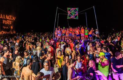 Full Moon Party, Pilnaties vakarėlis Tailande